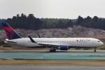 リンリンさんが、成田国際空港で撮影したデルタ航空 767-332/ERの航空フォト(写真)