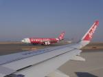 リンリンさんが、中部国際空港で撮影したタイ・エアアジア・エックス A330-343Xの航空フォト(写真)