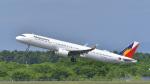 パンダさんが、新千歳空港で撮影したフィリピン航空 A321-271Nの航空フォト(写真)