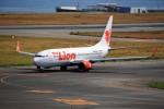 T.Sazenさんが、関西国際空港で撮影したタイ・ライオン・エア 737-8GPの航空フォト(写真)