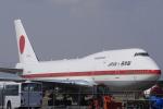 リンリンさんが、新千歳空港で撮影した航空自衛隊 747-47Cの航空フォト(写真)