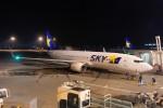 リンリンさんが、新千歳空港で撮影したスカイマーク 737-8ALの航空フォト(写真)