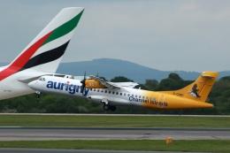 採れたてほしいもさんが、マンチェスター空港で撮影したオーリニー・エア・サービス ATR-72-500 (ATR-72-212A)の航空フォト(飛行機 写真・画像)