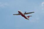 BENKIMAN-ENLさんが、台北松山空港で撮影した遠東航空 ATR-72-600の航空フォト(写真)