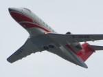 た~きゅんさんが、関西国際空港で撮影した中国個人所有 CL-600-2B16 Challenger 605の航空フォト(写真)