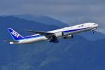 HISAHIさんが、福岡空港で撮影した全日空 777-381の航空フォト(写真)