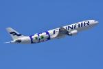 HISAHIさんが、福岡空港で撮影したフィンエアー A330-302Xの航空フォト(写真)