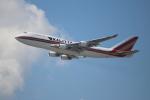 OMAさんが、香港国際空港で撮影したカリッタ エア 747-4B5(BCF)の航空フォト(飛行機 写真・画像)