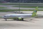 プルシアンブルーさんが、福岡空港で撮影したジンエアー 737-86Nの航空フォト(写真)
