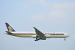 350JMさんが、成田国際空港で撮影したシンガポール航空 777-312/ERの航空フォト(写真)