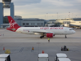 M.Chihara_1さんが、マッカラン国際空港で撮影したヴァージン・アメリカ A320-214の航空フォト(飛行機 写真・画像)