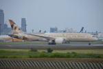 350JMさんが、成田国際空港で撮影したエティハド航空 787-9の航空フォト(写真)