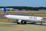ちっとろむさんが、成田国際空港で撮影したユナイテッド航空 767-424/ERの航空フォト(写真)