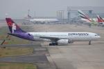 徳兵衛さんが、関西国際空港で撮影したハワイアン航空 A330-243の航空フォト(写真)