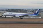 プルシアンブルーさんが、仙台空港で撮影した全日空 777-281の航空フォト(写真)