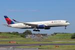 sumihan_2010さんが、成田国際空港で撮影したデルタ航空 A350-941XWBの航空フォト(写真)
