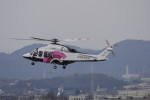 リンリンさんが、名古屋飛行場で撮影した日本法人所有 AW139の航空フォト(写真)