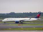 kikiさんが、成田国際空港で撮影したデルタ航空 A350-941XWBの航空フォト(写真)