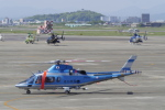 リンリンさんが、名古屋飛行場で撮影した愛知県警察 A109E Powerの航空フォト(写真)