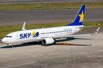 Tomo-Papaさんが、中部国際空港で撮影したスカイマーク 737-8FZの航空フォト(写真)