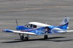 鈴鹿@風さんが、名古屋飛行場で撮影した日本法人所有 PA-28-140 Cherokeeの航空フォト(写真)