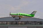 鈴鹿@風さんが、名古屋飛行場で撮影した日本法人所有 PA-46-350P Malibu Mirageの航空フォト(写真)
