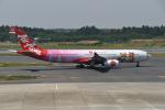 turenoアカクロさんが、成田国際空港で撮影したタイ・エアアジア・エックス A330-343Xの航空フォト(写真)