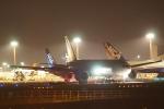 木人さんが、成田国際空港で撮影したエアロ・ロジック 777-FZNの航空フォト(写真)