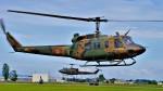 hidetsuguさんが、札幌飛行場で撮影した陸上自衛隊 UH-1Jの航空フォト(写真)