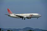 Gambardierさんが、岡山空港で撮影した日本トランスオーシャン航空 737-4Q3の航空フォト(写真)