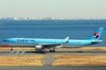 Hiro-hiroさんが、羽田空港で撮影した大韓航空 A330-323Xの航空フォト(写真)