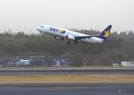 ふじいあきらさんが、成田国際空港で撮影したスカイマーク 737-8HXの航空フォト(飛行機 写真・画像)