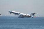 mogusaenさんが、羽田空港で撮影した海上保安庁 G-V Gulfstream Vの航空フォト(飛行機 写真・画像)