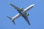 navipro787さんが、宮崎空港で撮影したソラシド エア 737-86Nの航空フォト(写真)