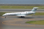 KAKOさんが、中部国際空港で撮影したMerck Sharp & Dohme Corp  G-V-SP Gulfstream G550の航空フォト(写真)