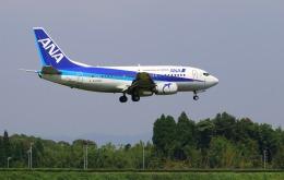 EosR2さんが、鹿児島空港で撮影したANAウイングス 737-5L9の航空フォト(飛行機 写真・画像)