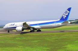 EosR2さんが、鹿児島空港で撮影した全日空 787-9の航空フォト(飛行機 写真・画像)