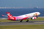 yabyanさんが、中部国際空港で撮影したタイ・エアアジア・エックス A330-343Xの航空フォト(写真)