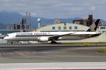 MOHICANさんが、福岡空港で撮影したシンガポール航空 787-10の航空フォト(写真)