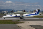 MOHICANさんが、福岡空港で撮影したANAウイングス DHC-8-402Q Dash 8の航空フォト(写真)
