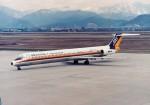 エルさんが、山形空港で撮影した日本エアシステム MD-81 (DC-9-81)の航空フォト(写真)