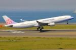 Tomo_mczさんが、中部国際空港で撮影したチャイナエアライン A330-302の航空フォト(写真)