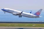 Tomo_mczさんが、中部国際空港で撮影したチャイナエアライン 737-8ALの航空フォト(写真)