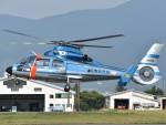 とびたさんが、松本空港で撮影した長野県警察 AS365N3 Dauphin 2の航空フォト(写真)