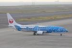 OS52さんが、中部国際空港で撮影した日本トランスオーシャン航空 737-8Q3の航空フォト(写真)