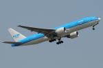 きんめいさんが、関西国際空港で撮影したKLMオランダ航空 777-206/ERの航空フォト(写真)