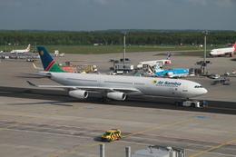 matsuさんが、フランクフルト国際空港で撮影したナミビア航空 A340-311の航空フォト(飛行機 写真・画像)