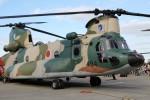 もぐ3さんが、入間飛行場で撮影した航空自衛隊 CH-47J/LRの航空フォト(写真)
