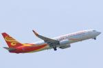 臨時特急7032Mさんが、台湾桃園国際空港で撮影した海南航空 737-84Pの航空フォト(写真)