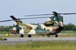もぐ3さんが、新潟空港で撮影した航空自衛隊 CH-47J/LRの航空フォト(写真)